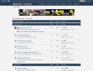 forums.sketchucation.com screenshot