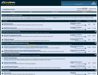 forums.snapstream.com screenshot
