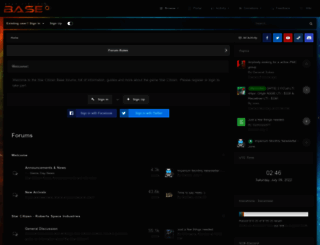 forums.starcitizenbase.com screenshot