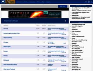forums.stardock.com screenshot