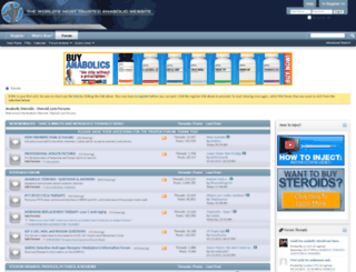 forums.steroid.com screenshot