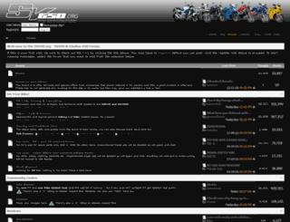 forums.sv650.org screenshot