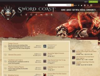 forums.swordcoast.com screenshot