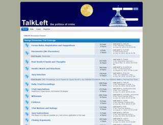 forums.talkleft.com screenshot