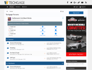 forums.techgage.com screenshot
