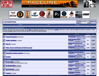 forums.thepaceline.net screenshot