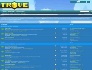 forums.trovegame.com screenshot