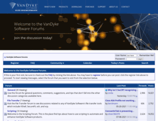 forums.vandyke.com screenshot