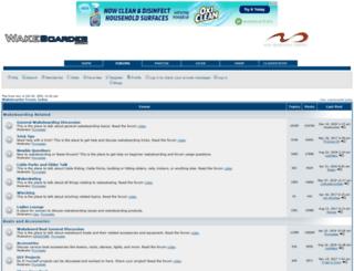 forums.wakeboarder.com screenshot