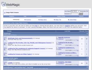 forums.webmagic.com screenshot