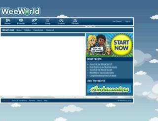 forums.weeworld.com screenshot