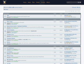 forums.wesnoth.org screenshot