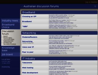 forums.whirlpool.net.au screenshot