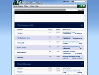forums.wincustomize.com screenshot