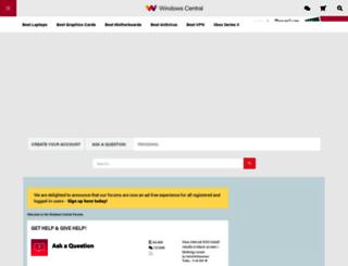forums.windowscentral.com screenshot
