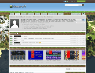 forums.wolfpackarcade.com screenshot