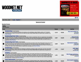 forums.woodnet.net screenshot