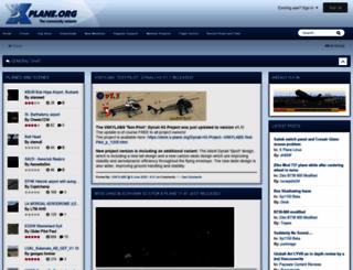 forums.x-plane.org screenshot