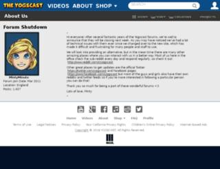 forums.yogscast.com screenshot