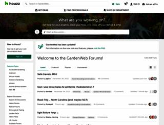 forums2.gardenweb.com screenshot