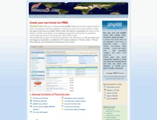 forums3.com screenshot