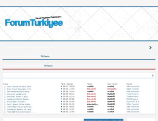 forumturkiyee.tk screenshot