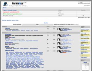 forumtv.pl screenshot