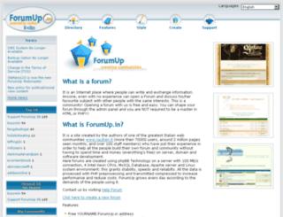forumup.in screenshot