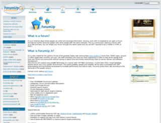 forumup.it screenshot