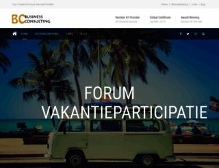 forumvakantieparticipatie.be screenshot
