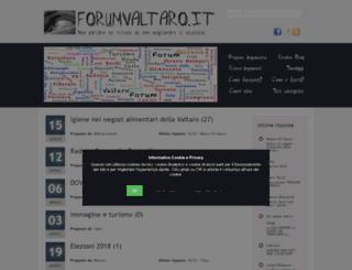 forumvaltaro.it screenshot