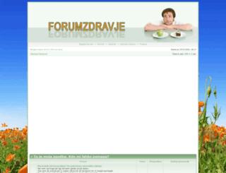 forumzdravje.si screenshot