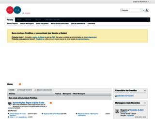 foruns.pinkblue.com screenshot