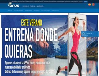 forusparla.es screenshot