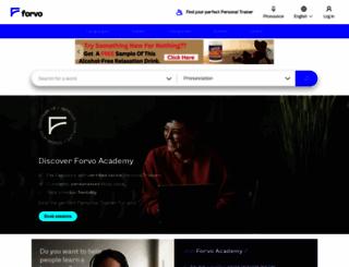 forvo.com screenshot