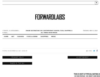 forwardlabs.co.uk screenshot