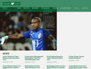 forwardnigeria.com screenshot