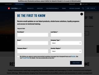 forwardthinking.honeywell.com screenshot