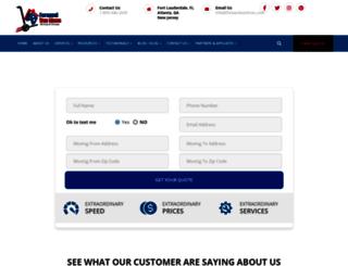 forwardvanlines.net screenshot