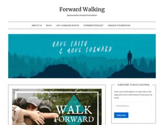 forwardwalking.com screenshot