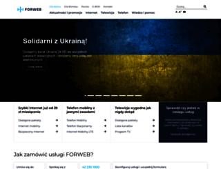 forweb.pl screenshot