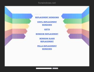 forwindows.net screenshot