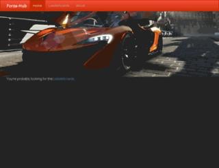 forza-hub.jimdeno.com screenshot