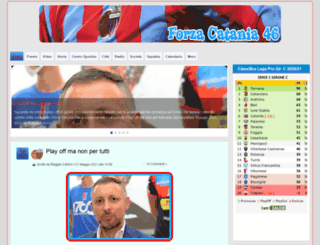 forzacatania46.com screenshot