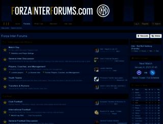 forzainterforums.com screenshot