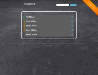 forzaleoni.it screenshot