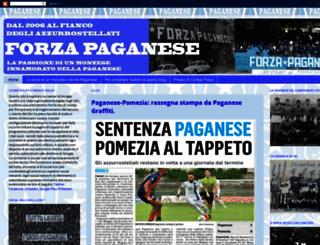 forzapaganese.blogspot.com screenshot