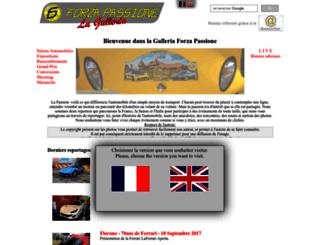 forzapassione.com screenshot