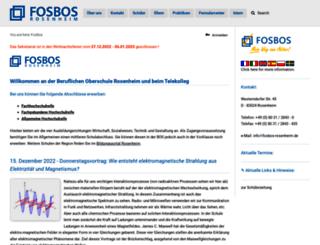 fosbos-rosenheim.de screenshot