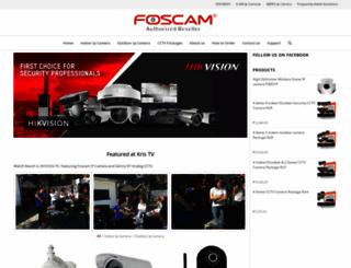 foscam.com.ph screenshot